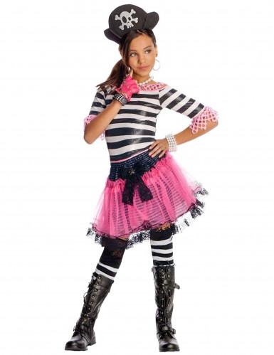 Déguisement pirate gothique fille