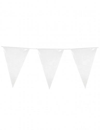 Guirlande fanions blanche