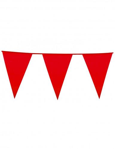Guirlande fanions rouge