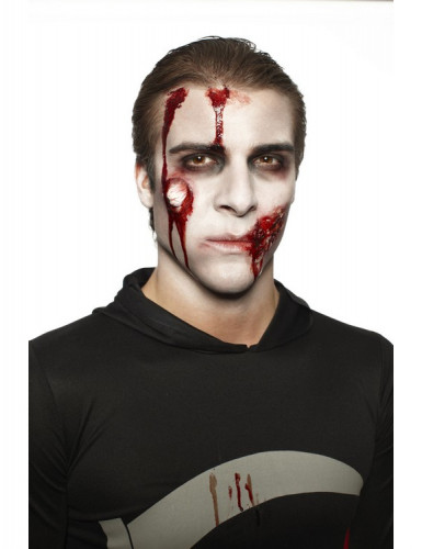 Kit maquillage zombie adulte Halloween-1