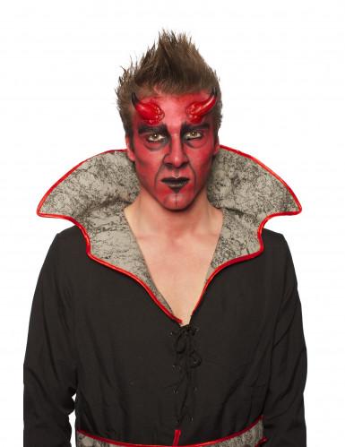 Kit maquillage démon adulte Halloween-4