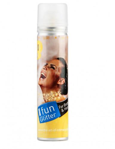 Spray corps et cheveux pailettes or
