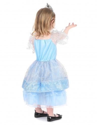 Déguisement princesse enfant bleu clair-2