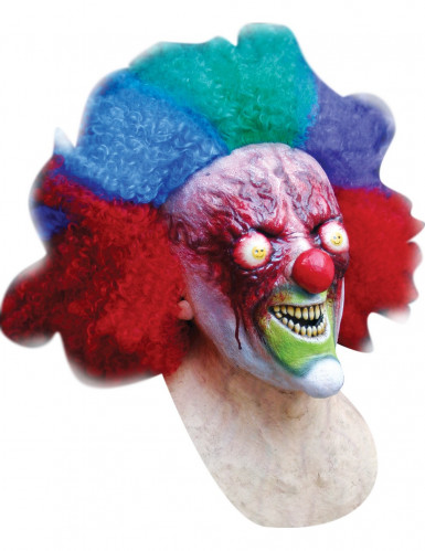 Masque clown brulé adulte Halloween