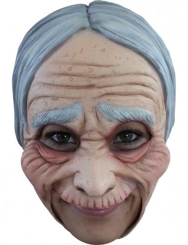 Masque vieille femme adulte Halloween