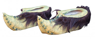 Oferta: Zapatos de duende verde adulto Halloween