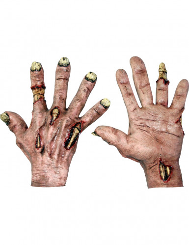 Gants zombie adulte Halloween