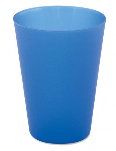 4 gobelets réutilisables bleu bavarois