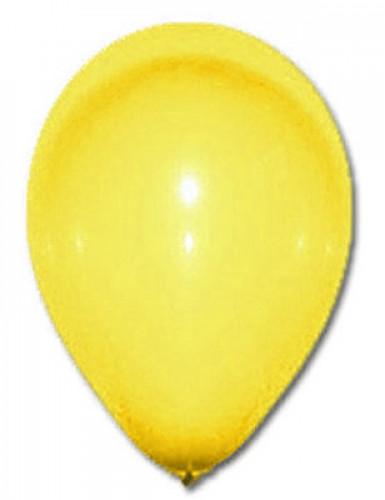 100 Ballons jaunes 27 cm