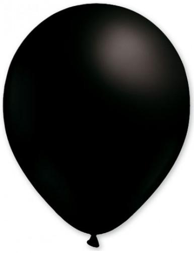 100 Ballons noirs 27 cm