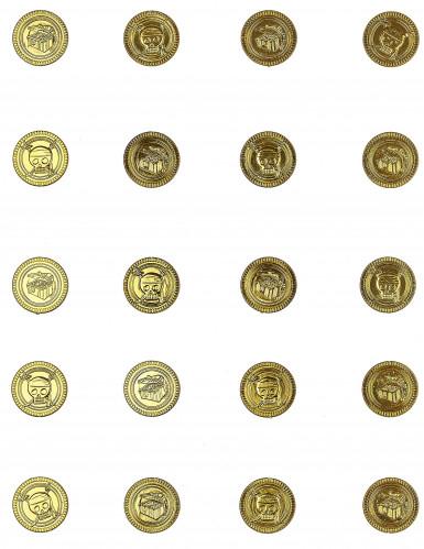 30 Pièce en or tête de mort-1