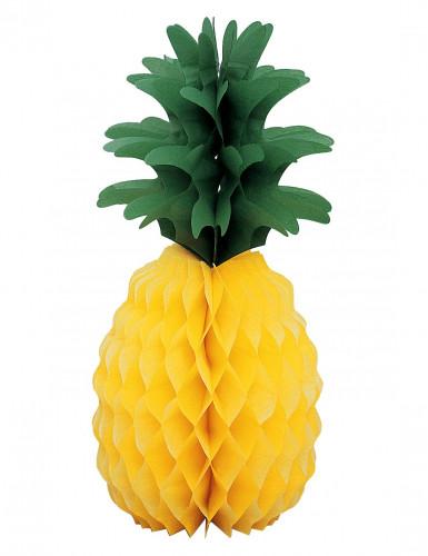 Décoration ananas en papier 35 cm
