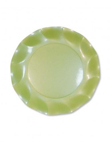 Image of 10 piatti dessert mandorla perlata
