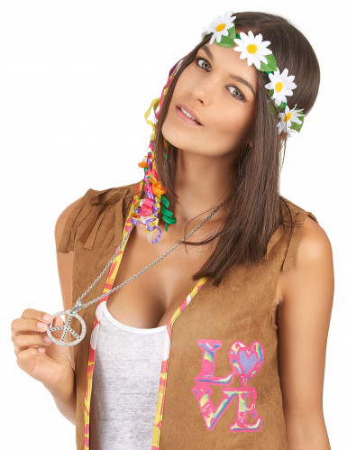 Collier hippie adulte-1