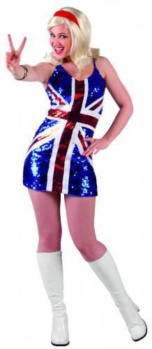 Déguisement robe Royaume-Uni femme