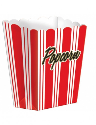 8 boîtes Pop Corn Hollywood