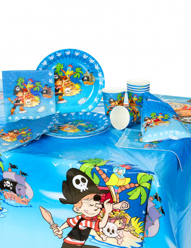 Kit d'anniversaire Pirate 25 pièces-1