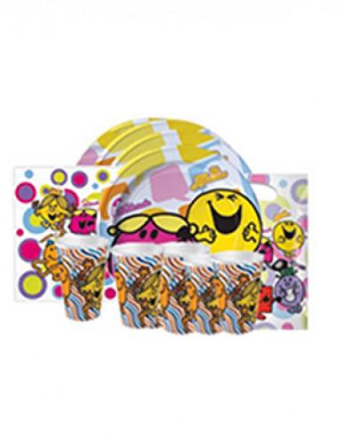 Kit d'anniversaire Monsieur Madame™ 25 pièces