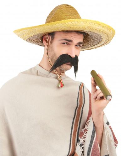 Sombrero mexicain jaune adulte-1