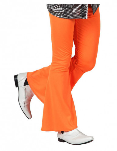 Pantalon disco orange homme