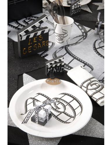 20 Serviettes en papier de table Cinéma 33 x 33 cm-1