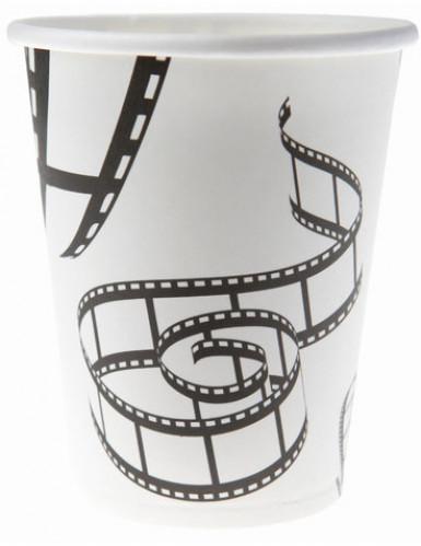 10 Gobelets en carton cinéma 9 x 7.5 cm