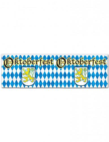 Bannière bleue et blanche Oktoberfest 1,2 m x 35,5 cm