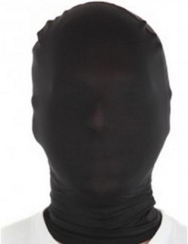 Cagoule noire adulte Morphsuits™