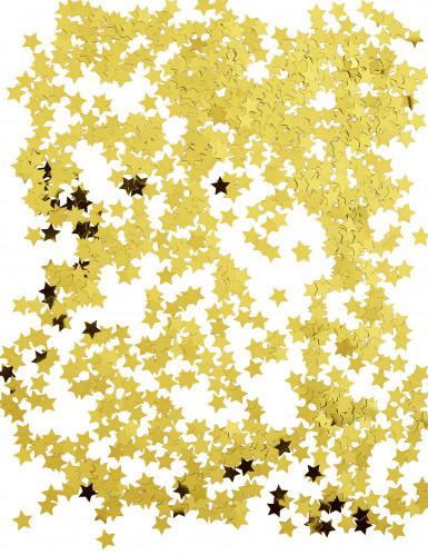 Confettis étoiles métallisés or-1