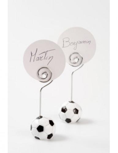 4 Marque-places ballon football 3 x 9 cm-1