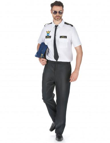 Déguisement pilote d'avion de ligne homme