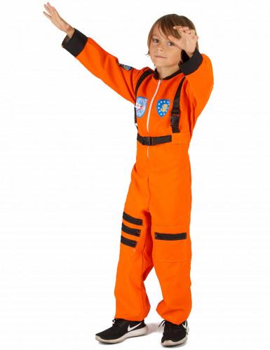 Déguisement astronaute orange garçon-1