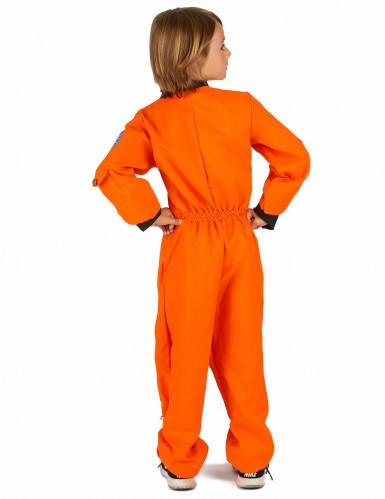 Déguisement astronaute orange garçon-2