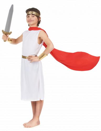Déguisement romain à cape garçon-1