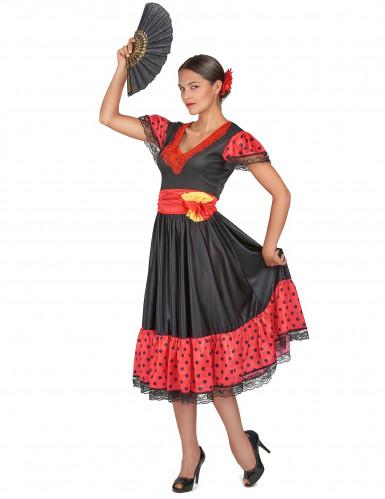 Déguisement danseuse de flamenco femme-1