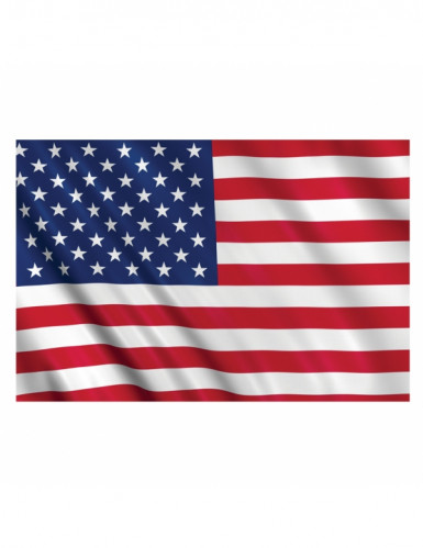 Drapeau supporter USA 150 X 90 cm