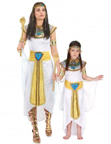 Déguisement de couple reine Egyptienne mère et fille