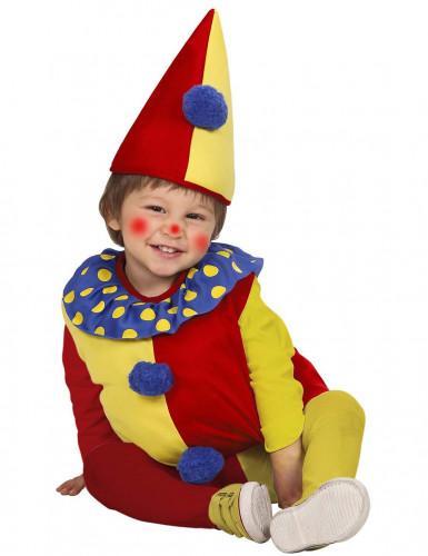 Déguisement clown bicolore bébé-1