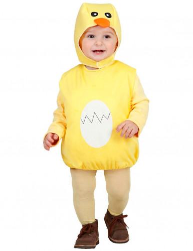 Déguisement poussin jaune enfant