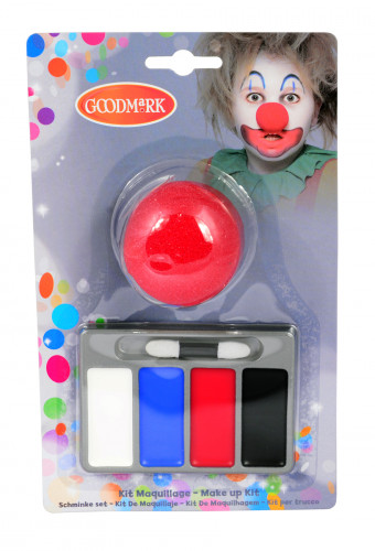Mini kit maquillage clown