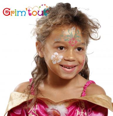Pochoir de maquillage réutilisable Fleurs Grim Tout-1