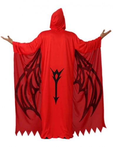 Déguisement démon rouge homme Halloween-1