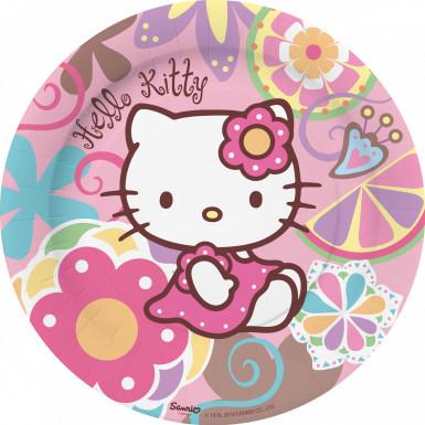10 platos Hello Kitty Bamboo?