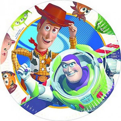 10 platos de Toy Story 3?