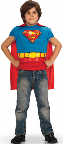 Plastron avec cape integrée Superman™
