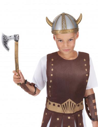 Hache de viking enfant en plastique 33 cm-1