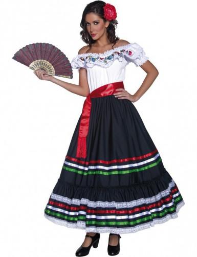 Déguisement danseuse mexicaine femme