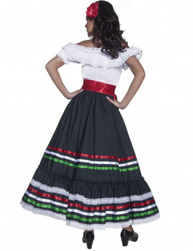 Déguisement danseuse mexicaine femme-2