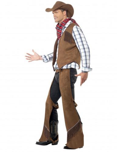 Déguisement cowboy à franges homme-1