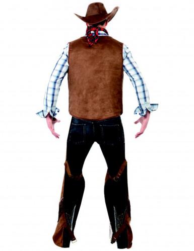 Déguisement cowboy à franges homme-2